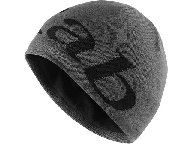 Rab Logo Beanie Men, grit/beluga